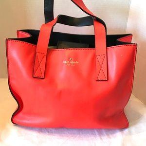 Kate Spade Coral Shoulder Purse Bag